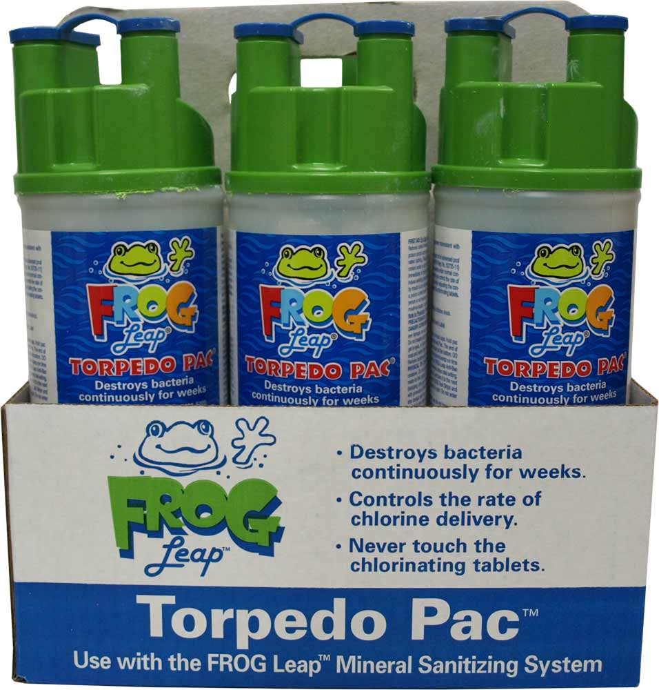 Frog Pool - Torpedo Pacs 6 Pack