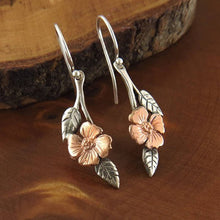 Load image into Gallery viewer, Bohemia Flower Leaf Alloy Earrings