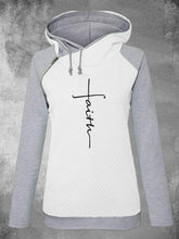 Load image into Gallery viewer, Zipper Long Sleeve Hooded Fleece Ladies Embroidered Sweatshirts