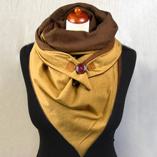 Load image into Gallery viewer, Cotton Fashion Scarves Winter Scarves For Women Floral Triangle Scarf