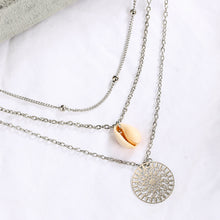 Load image into Gallery viewer, Women Bohemian Shell Multi-layer Necklace