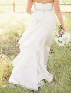 Anna Maier 'Duchess Satin' - Anna Maier - Nearly Newlywed Bridal Boutique - 3