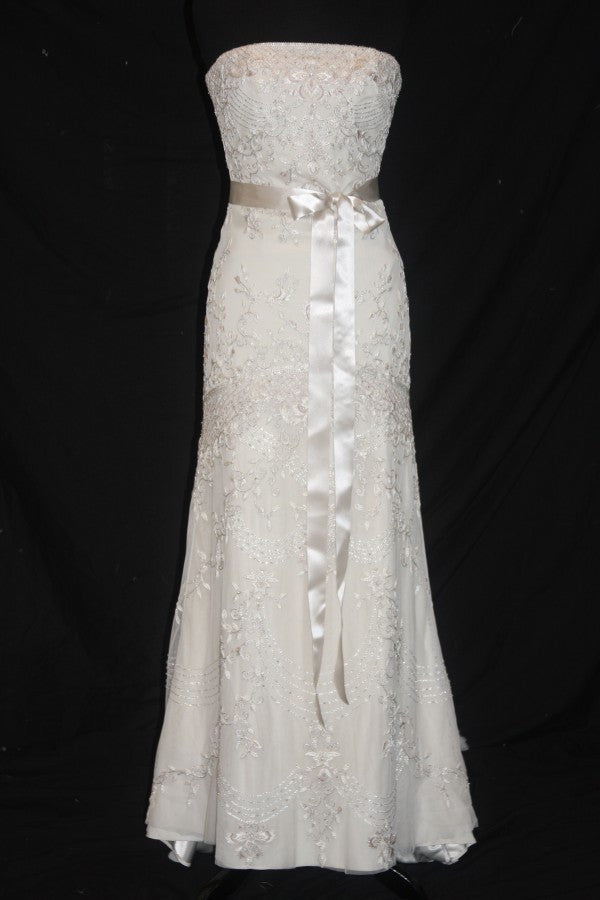 Lazaro Style #3552 - Lazaro - Nearly Newlywed Bridal Boutique - 1