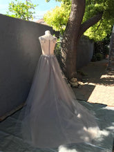 Load image into Gallery viewer, Creature of Habit 'Custom Tulle' size 6 new wedding dress back view on mannequin
