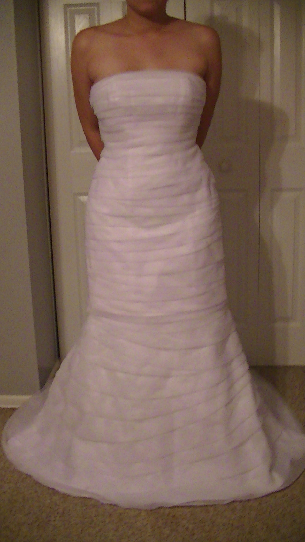 Davids Bridal 'Strapless' - Davids Bridal - Nearly Newlywed Bridal Boutique - 1