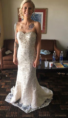 Christina Wu '15526' size 4 used wedding dress front view on bride