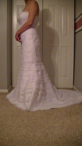 Davids Bridal 'Strapless' - Davids Bridal - Nearly Newlywed Bridal Boutique - 2