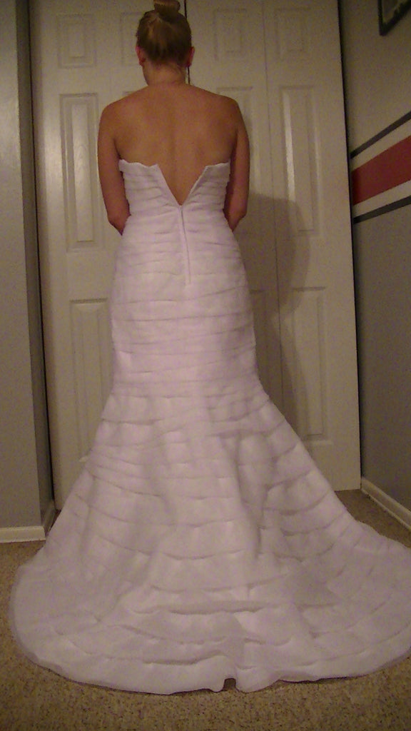 Davids Bridal 'Strapless' - Davids Bridal - Nearly Newlywed Bridal Boutique - 3