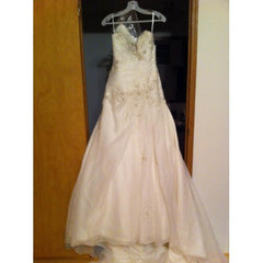 Mori Lee Style 1662 - Mori Lee - Nearly Newlywed Bridal Boutique - 3
