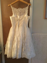 Load image into Gallery viewer, Priscilla of Boston 'Trish Vineyard Collection' wedding dress size-10 SAMPLE