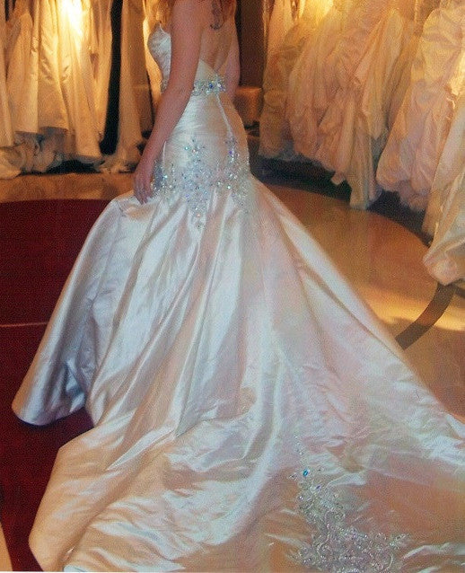 Stephen Yearick Custom Gown - Stephen Yearick - Nearly Newlywed Bridal Boutique - 1