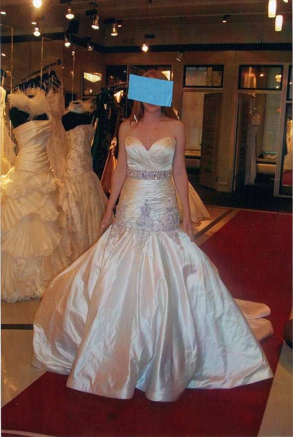 Stephen Yearick Custom Gown - Stephen Yearick - Nearly Newlywed Bridal Boutique - 2