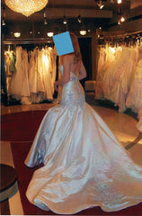 Stephen Yearick Custom Gown - Stephen Yearick - Nearly Newlywed Bridal Boutique - 3