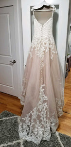 Allure '2701' wedding dress size-06 PREOWNED
