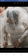Load image into Gallery viewer, Mori Lee 'Luzette' size 22 used wedding dress front view close up