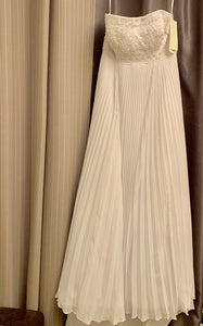 Galina Signature 'SWG9838' size 14 new wedding dress front view on hanger