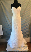 Load image into Gallery viewer, Alvina Valenta 'Fluted Ivory with Alencon Lace'