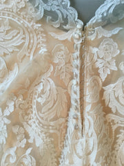 Maggie Sottero 'Winifred' size 4 used wedding dress view of material