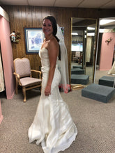 Load image into Gallery viewer, Alvina Valenta '9304' wedding dress size-10 SAMPLE