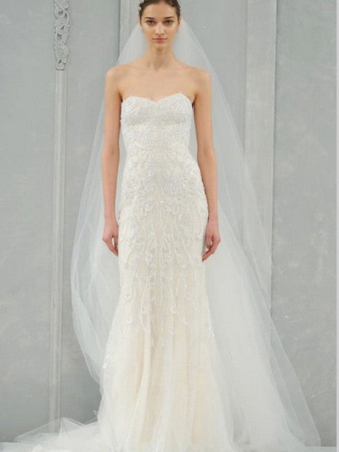 Monique Lhuillier 'Charmaine' - Monique Lhuillier - Nearly Newlywed Bridal Boutique - 1