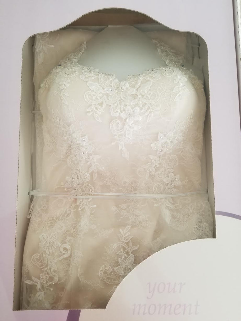 Alfred Angelo '2547' size 14 used wedding dress in box