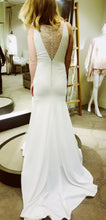 Load image into Gallery viewer, Pronovias 'Estilo' size 4 new wedding dress back view on bride