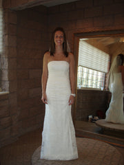 Monique Lhuillier 'Gemma' - Monique Lhuillier - Nearly Newlywed Bridal Boutique - 2