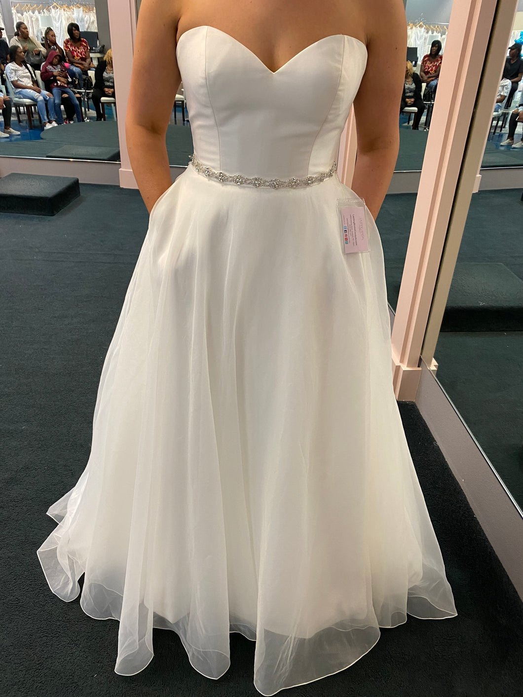 Sweetheart '11005' wedding dress size-12 NEW