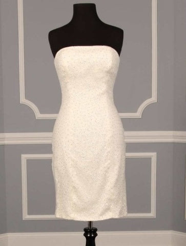 Badgley Mischka Tori Ball Gown Miniskirt Dress