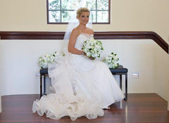 Amsale 'Elle' - Amsale - Nearly Newlywed Bridal Boutique - 3