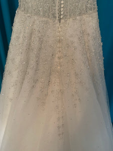 Enaura 'Aurora' wedding dress size-12 NEW