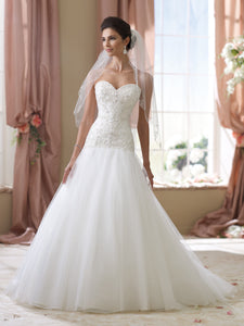 David Tutera for Mon Cheri 'Cora' - david tutera for mon cheri - Nearly Newlywed Bridal Boutique - 1