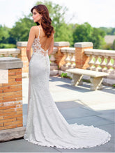 Load image into Gallery viewer, Mon Cherie 'Enchanting' size 8 new wedding dress back view on model