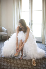 Monique Lhuillier 'Reese' - Monique Lhuillier - Nearly Newlywed Bridal Boutique - 3