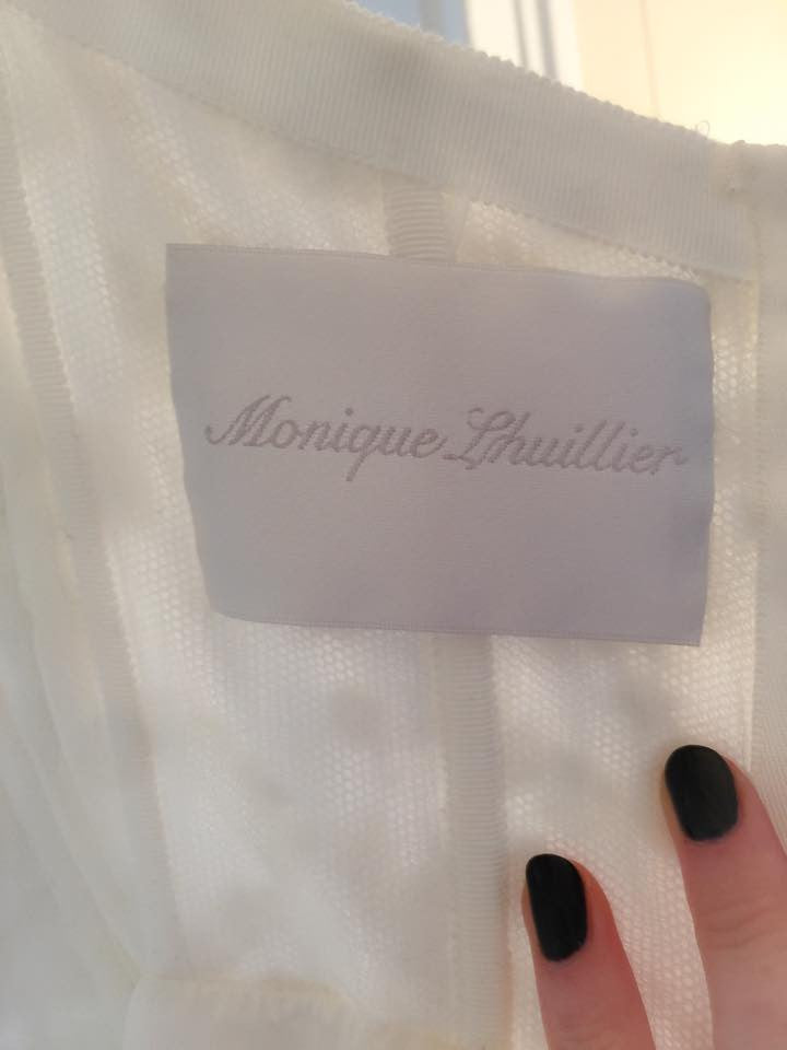 Monique Lhuiller 'Creme Brulee' - Monique Lhuillier - Nearly Newlywed Bridal Boutique - 5