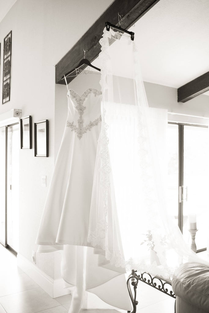 Mori Lee 'Diamante' - Mori Lee - Nearly Newlywed Bridal Boutique - 3