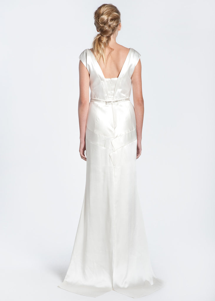 Bibhu Mohapatra 'Deco' Silk Wedding Dress - Bibhu Mohapatru - Nearly Newlywed Bridal Boutique - 2