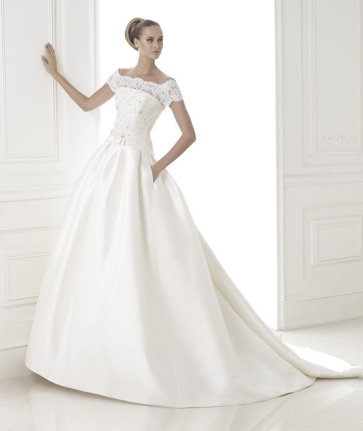 Pronovias 'Baronda' - Pronovias - Nearly Newlywed Bridal Boutique - 1