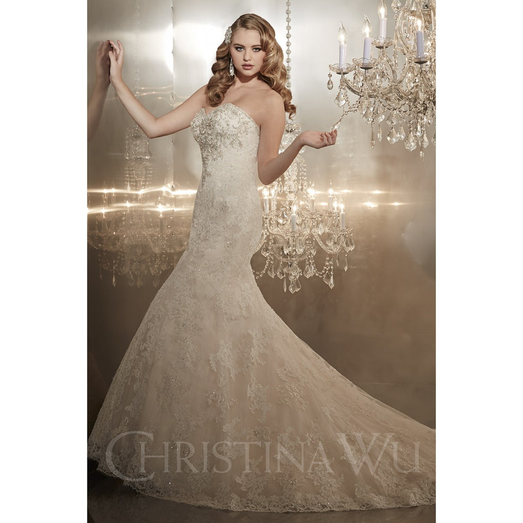 Christina Wu '15565' - Christina Wu - Nearly Newlywed Bridal Boutique - 2