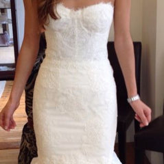 Monique Lhuillier 'Arielle' - Monique Lhuillier - Nearly Newlywed Bridal Boutique - 2