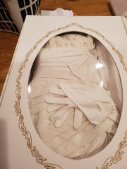 Maggie Sottero 'Imperial' size 8 used wedding dress in box