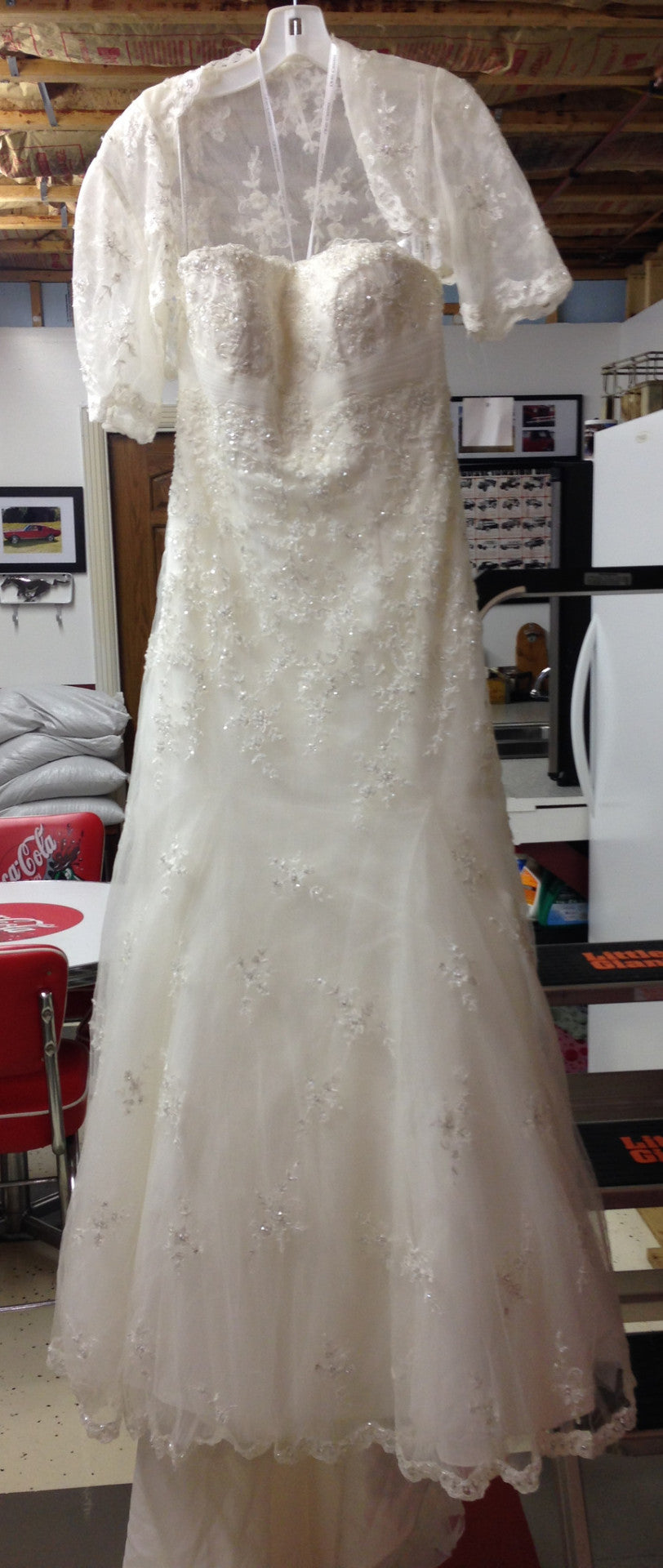 Oleg Cassini 'CWG324' - Oleg Cassini - Nearly Newlywed Bridal Boutique - 1