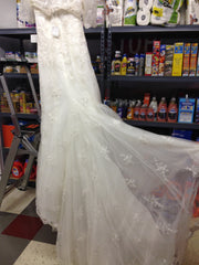 Oleg Cassini 'CWG324' - Oleg Cassini - Nearly Newlywed Bridal Boutique - 4