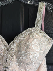 Da Vinci '31E50353' size 6 new wedding dress front view close up