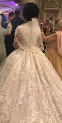 Ysa Makino 'Regal Bride' size 8 used wedding dress back view on bride