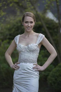 Monique Lhuillier 'Fitted Corset Dress' - Monique Lhuillier - Nearly Newlywed Bridal Boutique - 1