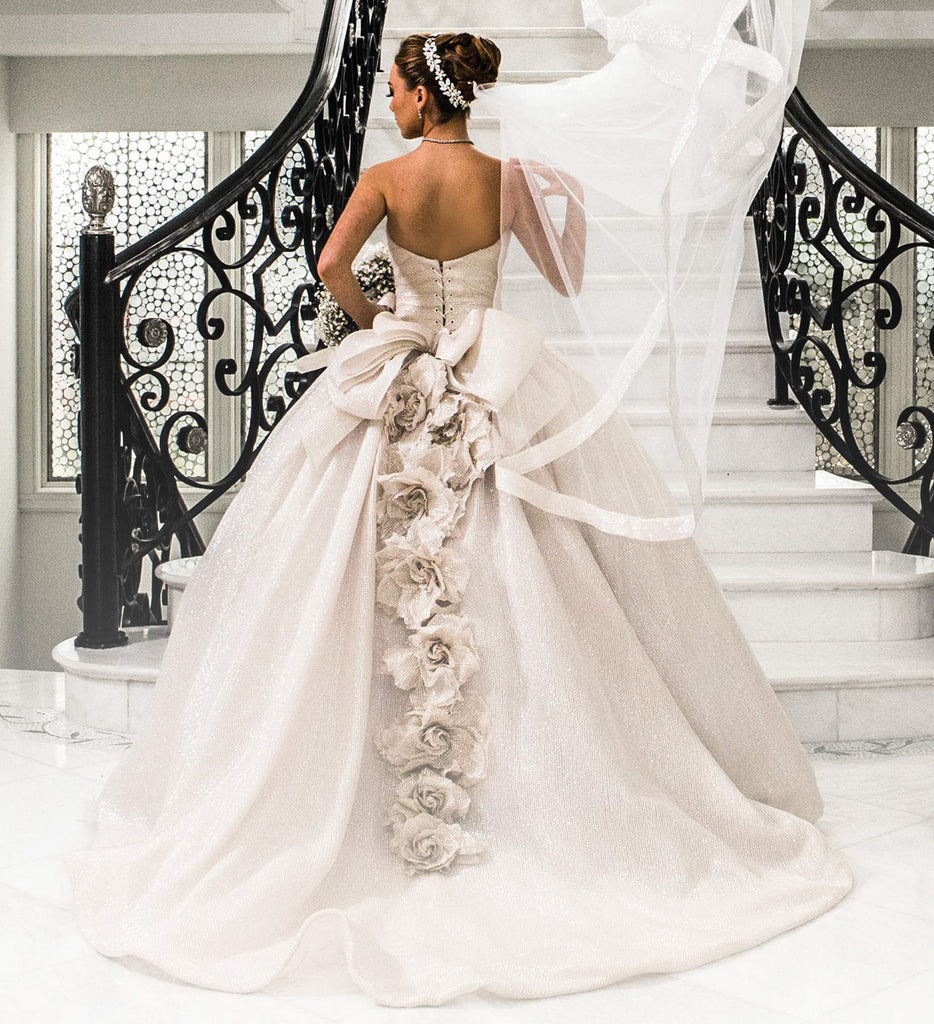 Pnina Tonai '4197' - Pnina Tonai - Nearly Newlywed Bridal Boutique - 1