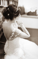 Romona Keveza 'L5100' - Romona Keveza - Nearly Newlywed Bridal Boutique - 1