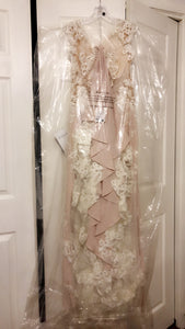 Essense of Australia 'D2205' size 12 new wedding dress back view on hanger