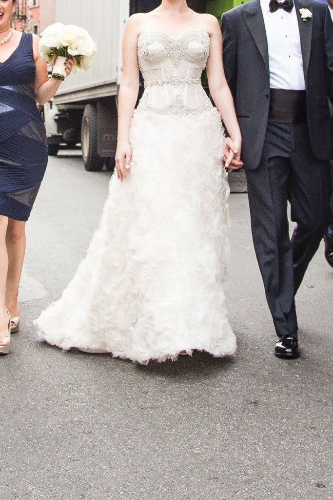 Pnina Tornai Fully Custom Wedding Dress - Pnina Tornai - Nearly Newlywed Bridal Boutique - 3